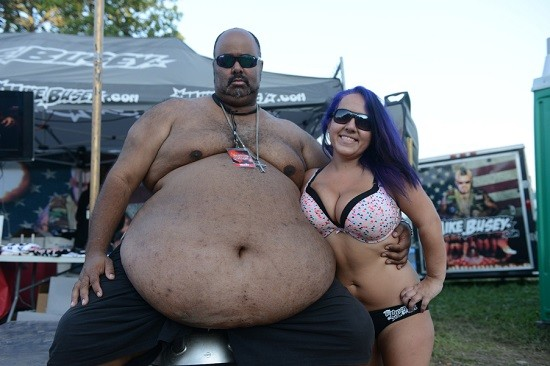 """Big LA, on the left, star of TMZ's video that went viral yesterday. - NATE """"IGOR"""" SMITH"""