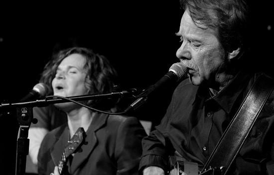 Tom Hall and Alice Cooper. - RALPH HEINE