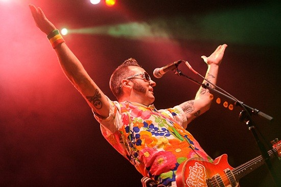 Reel Big Fish - photo from the band's 2010 appearance in St. Louis - TODD OWYOUNG