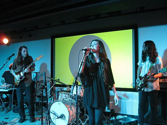 Heavily hyped Cults sparkled last night at the Luminary Center for the Arts. - DIANA BENANTI