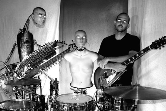 Captured! By Robots performs this Saturday at the Heavy Anchor. - PRESS PHOTO
