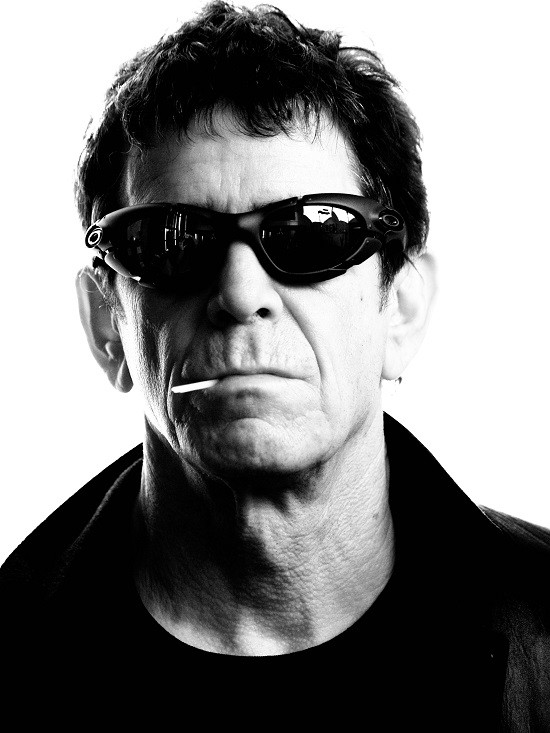 RIP Lou Reed - PRESS PHOTO VIA ANIMAL LAB INC.