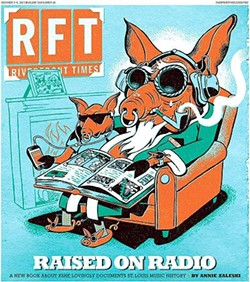 A late 2009 RFT cover featuring KSHE mascot Sweet Meat. - DAN ZETTWOCH