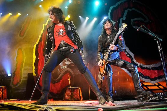 Click here for a full slideshow from Alice Cooper at the Family Arena. - TODD OWYOUNG