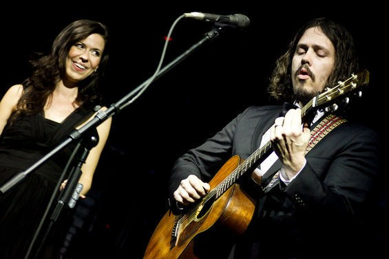 The Civil Wars this February in Florida. Full slideshow here. - IAN WITLEN