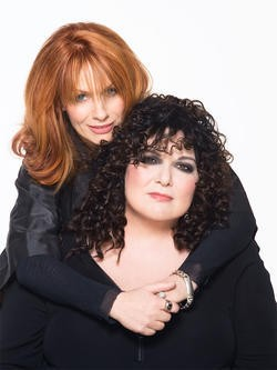 Heart's Ann and Nancy Wilson - AMBER MCDONALD