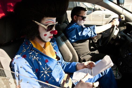 Clownvis can't drive 55 - SCOTT LAYNE