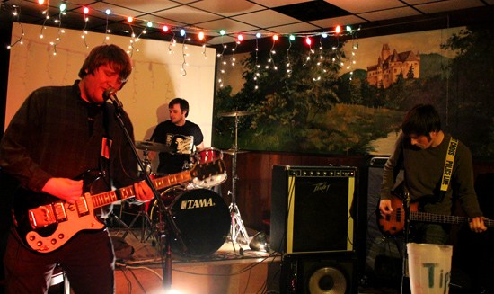 Trauma Harness opens with raw and gloomy punk music. - MABEL SUEN