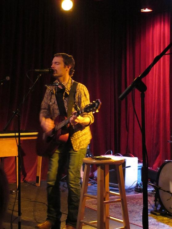 Rocky Votolato at Off Broadway - MICHAEL DAUPHIN