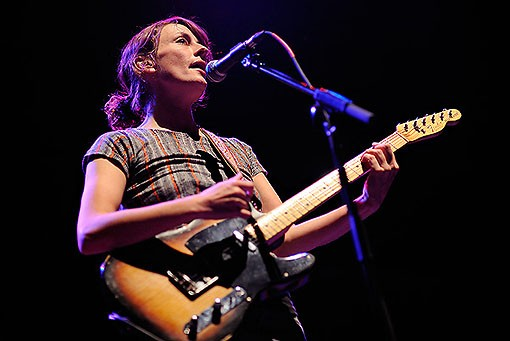 Sarah Harmer last night. See more photos from last night's show. - PHOTO: TODD OWYOUNG