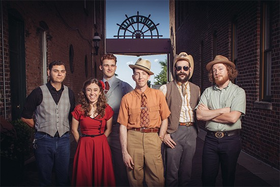 Pokey LaFarge -- Friday, December 20 @ Casa Loma Ballroom - PRESS PHOTO