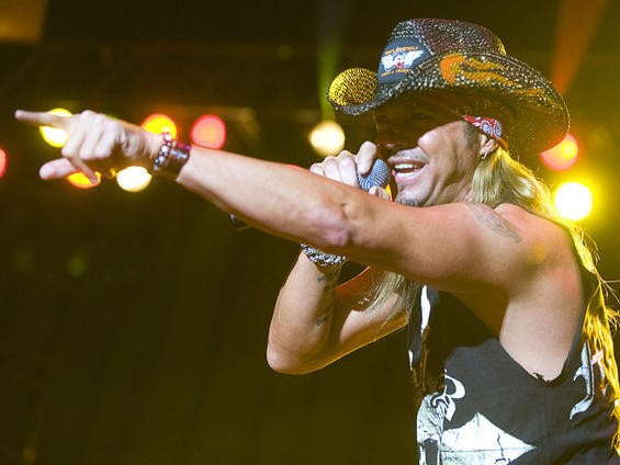 Bret Michaels at Rib America Festival, May 29, 2010. See an entire slideshow here. - JON GITCHOFF