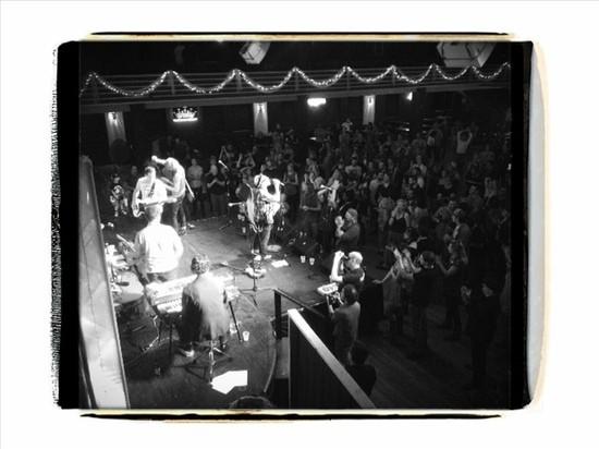 A scene at the memorial concert. - JAIME LEES