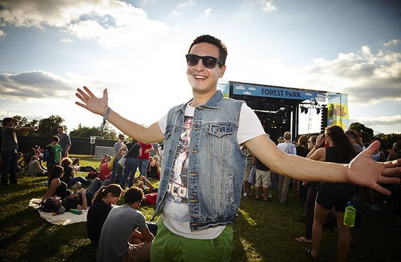 The denim vest is making a comeback, y'all! - STEVE TRUESDELL