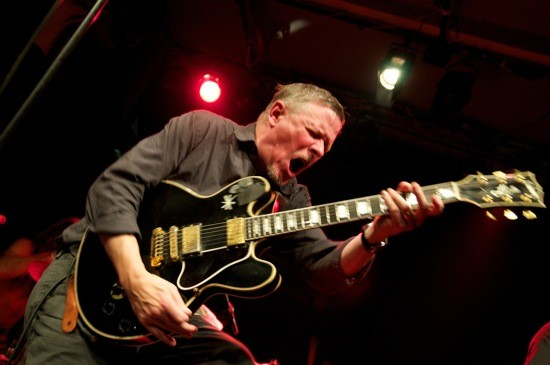 MICHAEL GIRA IN 2010. PHOTO COURTESY OF YOUNG GOD RECORDS.