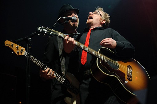 Flogging Molly last night at the Pageant. - PHOTO: TODD OWYOUNG