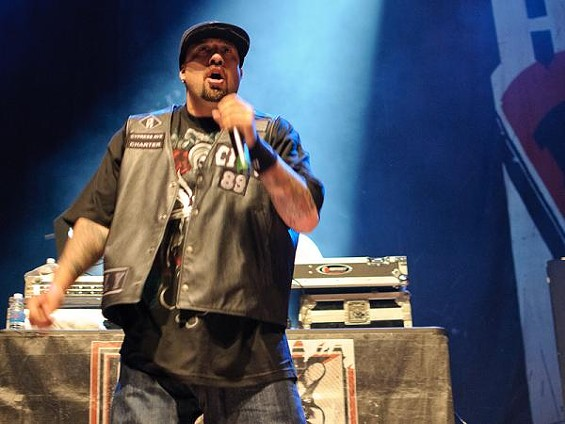 Cypress Hill at the Pageant. More photos from the night here. - JASON STOFF
