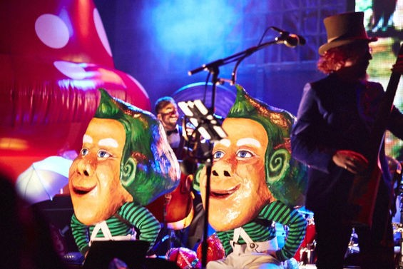 Oompa Loompa doopety-doo: The stuff of our nightmares is the stuff of Les Claypool's dreams. See more photos here. - THEO WELLING