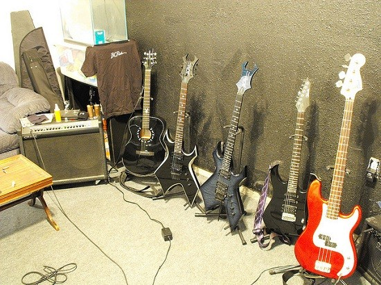 For the price of just one guitar, you could feed a starving village for a year, probably. - TRAVIS / FLICKR