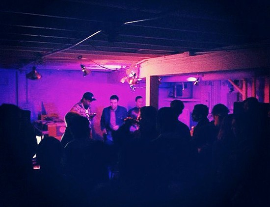 The Bump & Hustle at Blank Space - COURTESY OF RORY FLYNN