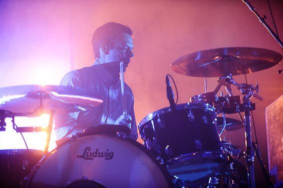 Interpol drummer Sam Fogarino - TODD OWYOUNG
