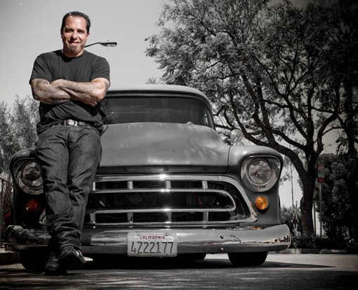 """""""TV is going to end, this shit is going to end eventually. I took the ride. The circus was in town and you do that,"""" says Miller about his time on LA Ink. - PHOTO: TIM SUTTON"""