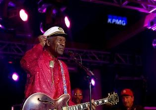 Chuck Berry's musical legacy is strong. But a legal saint he was not. - RFT FILE PHOTO