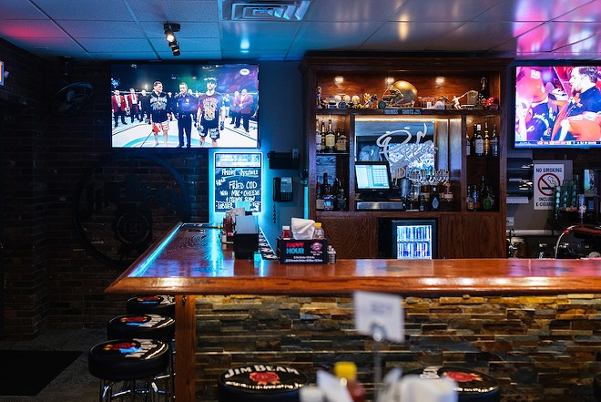Johnny's has game time covered .... just not its servers' bodies. - SPENCER PERNIKOFF
