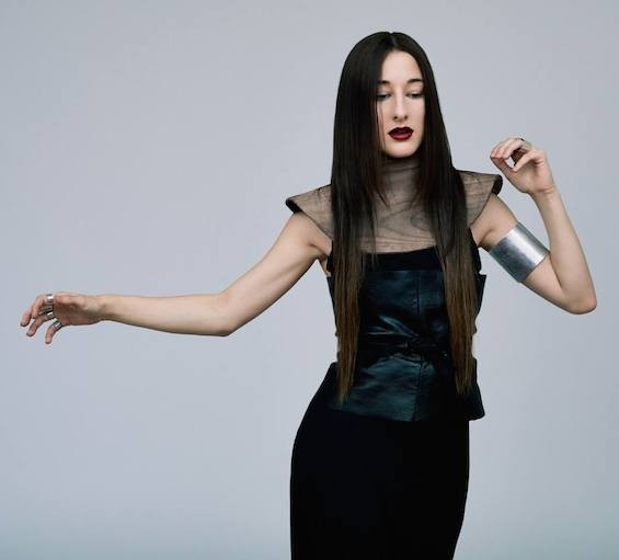 Zola Jesus, performing at Ready Room on January 17. - JEFF ELSTONE
