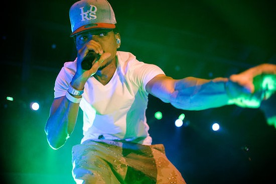 Chance the Rapper - Saturday, October 4 @ Chaifetz Arena. - JASON STOFF FOR RFT