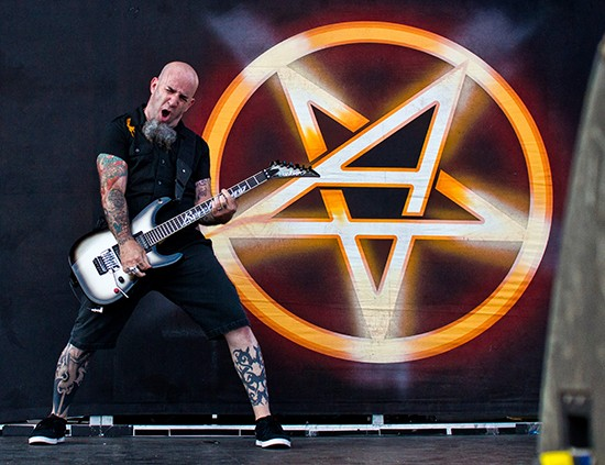 Scott Ian of Anthrax - TODD MORGAN