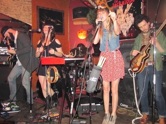 The Mynabirds at Jackalope's at SXSW 2012 - DANA PLONKA