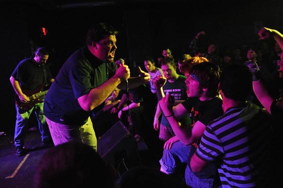 The Abused perform on Saturday night at Fubar.