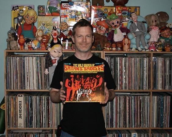 Rob Wagoner, of Bent, Adoring Heirs, Ultraman and Euclid Records fame - JON SCORFINA