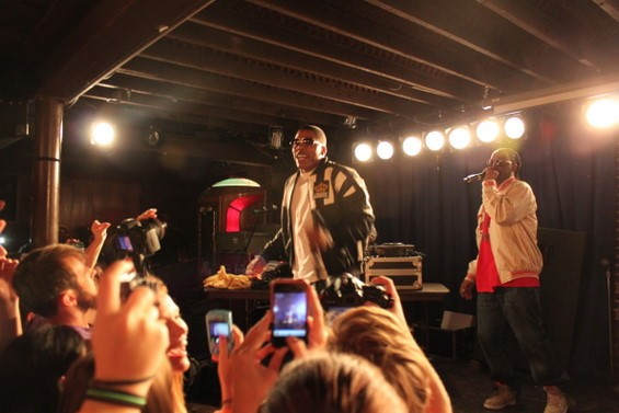 Nelly performing at the Duck Room. - DIANA BENANTI