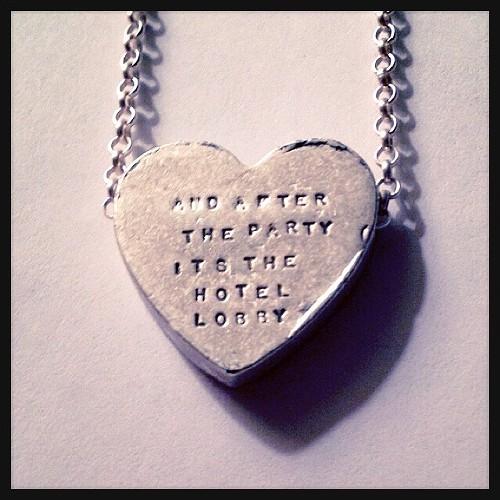My R. Kelly necklace - JAIME LEES