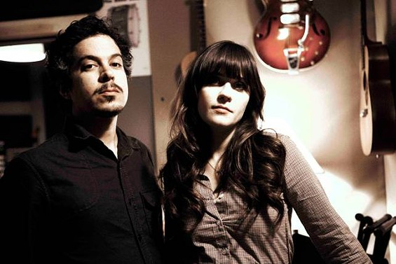 She & Him headline day two of LouFest. - TAEA THALE
