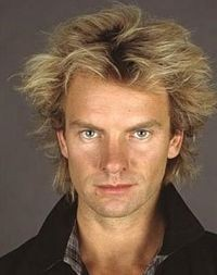 Sting - June 5 @ The Fabulous Fox Theatre. Just look at that lustrous Aquanet mane -- dashing.