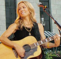 Will Sheryl Crow croon for baseball fans under the Arch? - VIA WIKIPEDIA.
