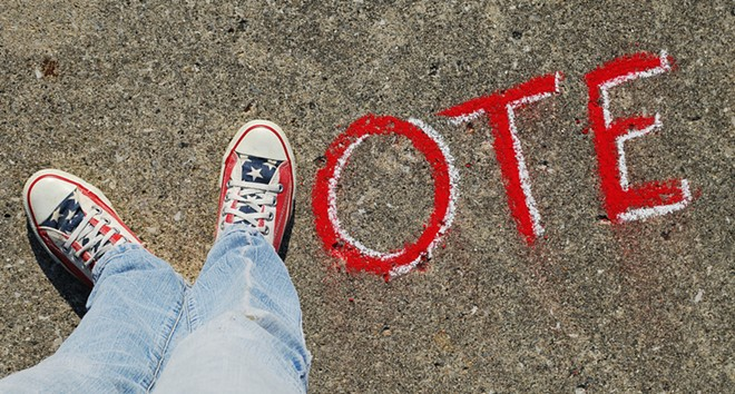 Get out there and vote — and make sure it counts. - THERESA THOMPSON / FLICKR