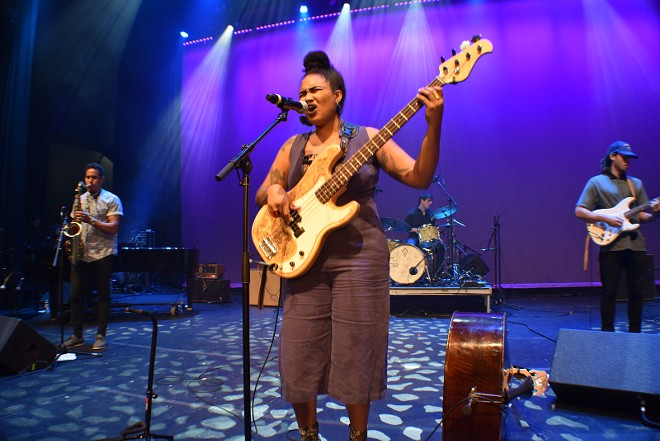 Tonina performing at the Sound of St. Louis Showcase at the Grandel in September. - DANIEL HILL