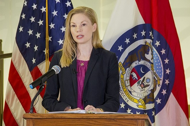 Nicole Galloway has won election to the job former Governor Jay Nixon appointed her to. - DANNY WICENTOWSKI