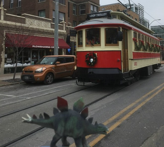 This here Loop Trolley is going to be loads of fun (if you're a mean-spirited bastard, that is it to say). - COURTESY OF UTE LEVI