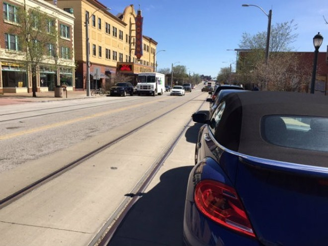 The Loop Trolley Just Hit Another Parked Vehicle News Blog