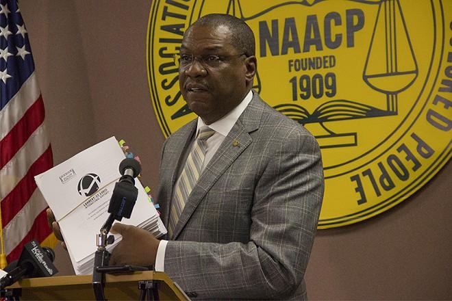 St. Louis NAACP president Adolphus Pruitt. - DANNY WICENTOWSKI