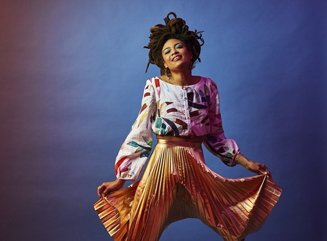 Valerie June will perform at Blueberry Hill's Duck Room on Saturday, April 27. - VIA THE BILLIONS CORPORATION