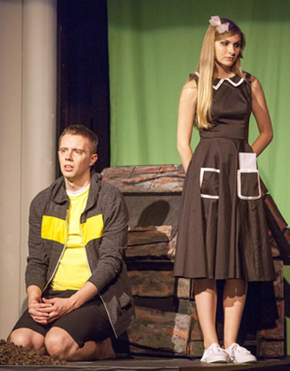 Michael Baird and Sierra Buffum as CB and CB's Sister. - JOHN LAMB