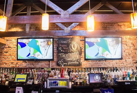 A look at the bar.