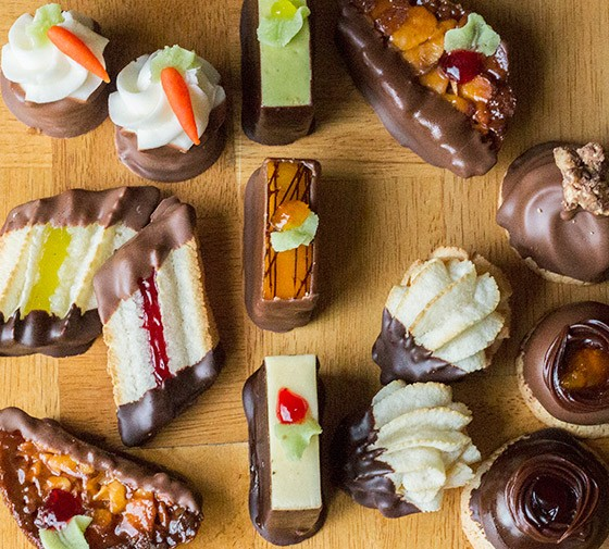 An assortment of petit fours from Pastries of Denmark.   Photos by Mabel Suen