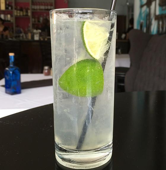 A perfect gin rickey.   Patrick J. Hurley